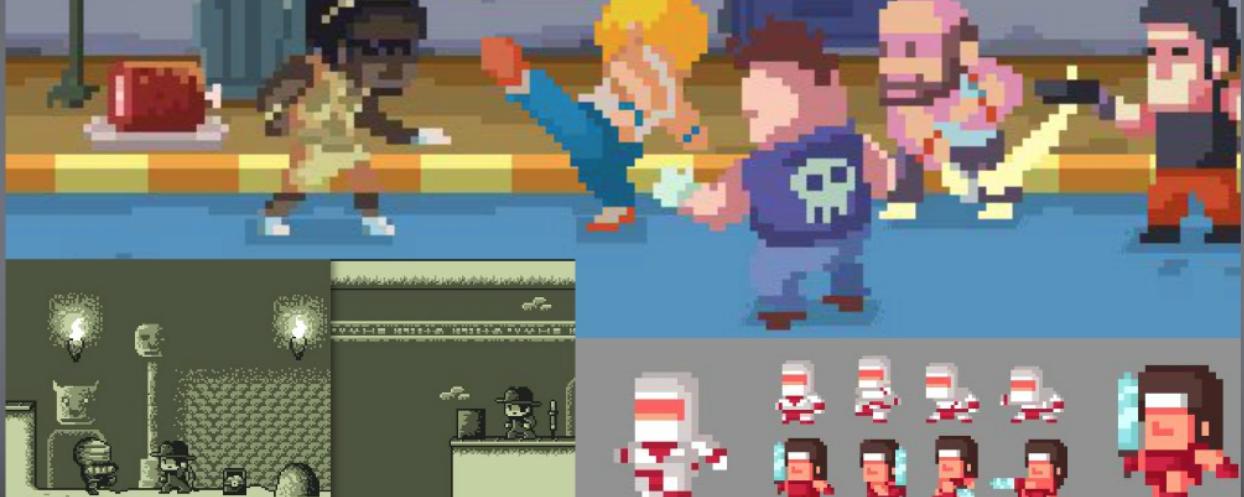 Recursos y arte gratuitos para desarrolladores indie